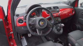 2013 Fiat 500 Abarth Driver Steering Wheel Dash