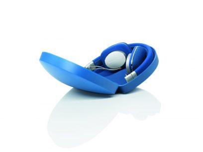 Headphones - Bowers Wilkins P3 Blue on_black - G Style Magazine Case