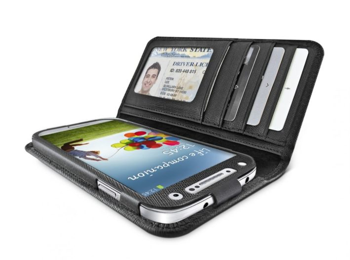 Samsung Galaxy S4 - Case - Accessories - SS4JSTYBK_open perspective
