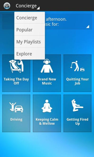songza app icon screenshot BlackBerry Z10 - G Style Magazine review