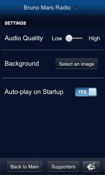 Apollo v1.0.2 for BlackBerry 10 Review – Pandora - G Style Magazine - Radio Settings