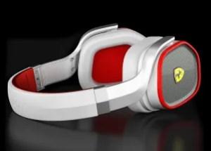 Ferrari Scuderia R300 Noise Canceling Headphones By Logic 3 Side - G Style Magazine