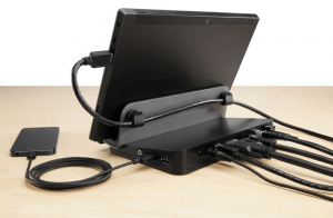 Belkin USB 3.0 Docking Stand Ports - Clean - Cable