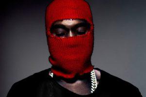 Kanye Red Mask Yeezus-Album