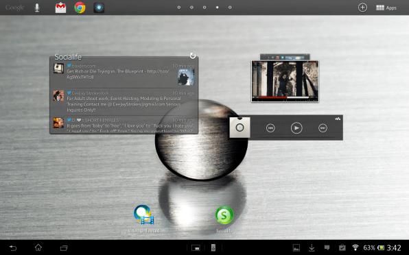 Sony Xperia Tablet Z screenshots (9)