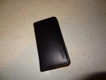 Spigen Leather Wallet SNAP case Samsung Galaxy S4 (11)