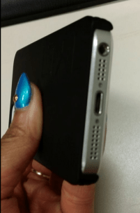TYLT Energi Sliding Power Case Review iPhone 5 5S and Cases G Style Magazine- bottom of iphone