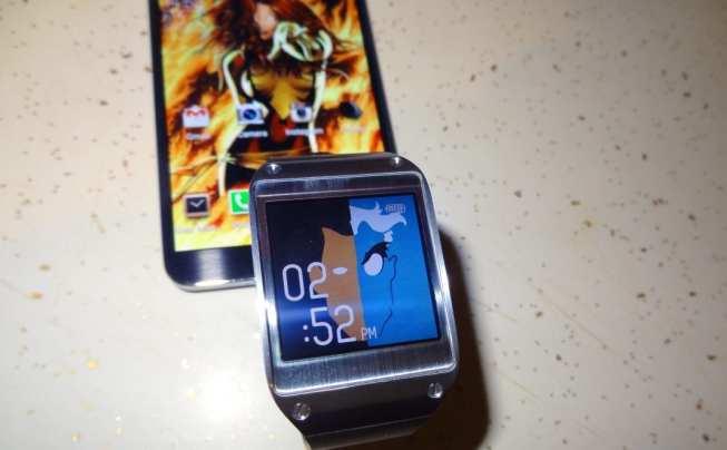 Samsung Galaxy Gear WatchStyler w/ Note 3
