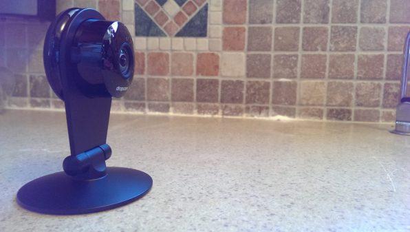 Dropcam Pro Review - Home Surveillance Camera Side View