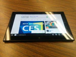 Nokia Lumia 2520 : Windows 8 Tablet Review  - Internet Explorer - IE