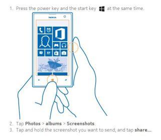 Nokia Lumia 1020 Smartphone Review - How to take a screenshot