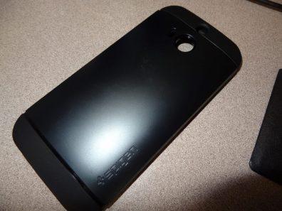 HTC One M8 Spigen Slim Armor Case (2)