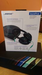 Bose SoundTrue Over Ear Headphones [Review] - Back of Box