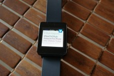 LG G Watch Twitter Notification