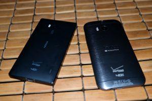 HTC One M8 for Windows Vs Nokia Lumia Icon  Face Down 2