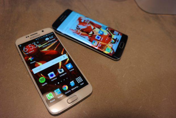 Samsung Galaxy S6 Edge v Galaxy S6
