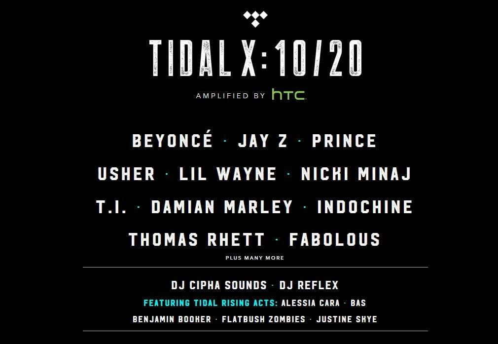 TIDAL 1020