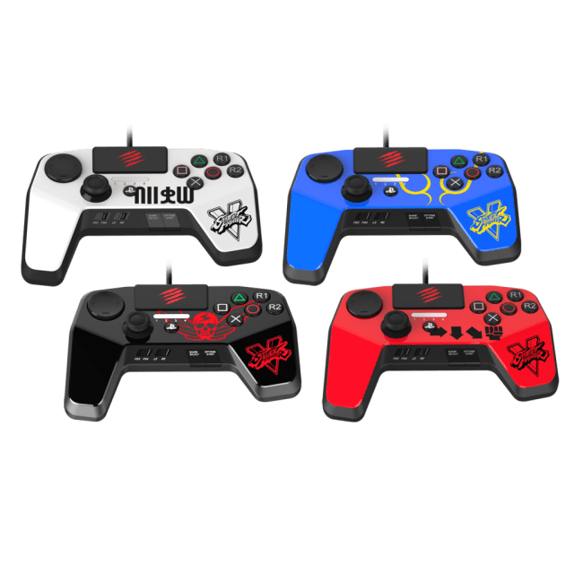 Street Fighter V Mad Catz Controllers (4)