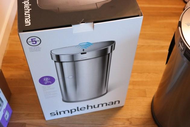 SimpleHuman Sensor Can Box