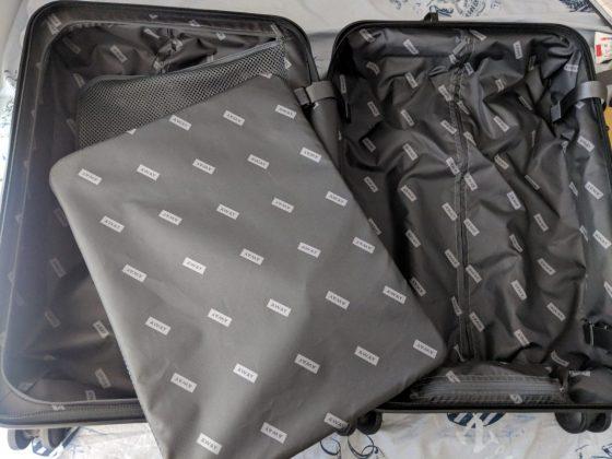 AWAY Bigger Carry On Bag Inside
