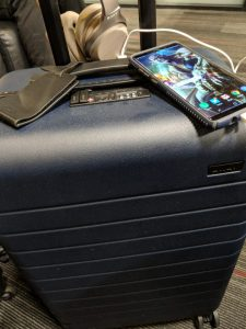 AWAY Bigger Carry On Bag Airport 2
