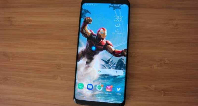 Samsung Galaxy S9 display