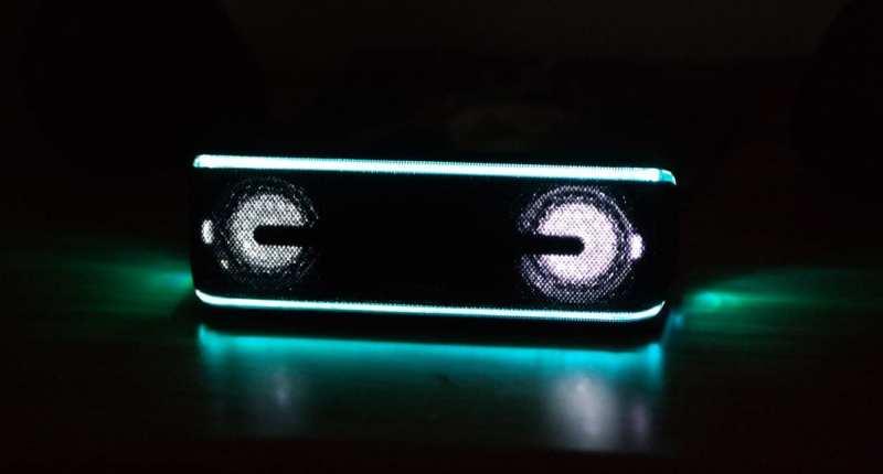 Sony SRS XB41 Speaker Lights