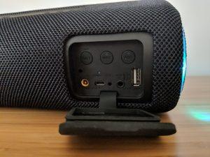 Sony SRS XB41 Speaker Ports