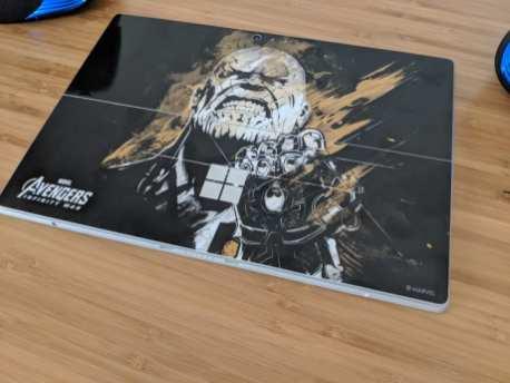 Surface Pro Skinit Avengers Infinity War Thanos