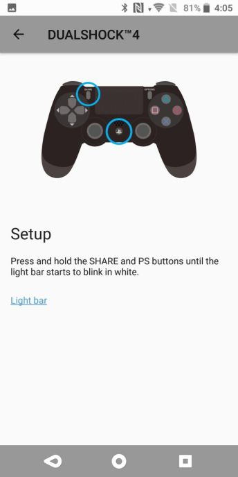Xperia XZ2 Remote Play