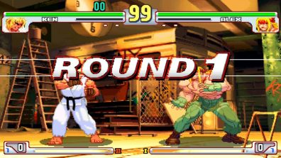 Street Fighter 30th Anniversary Collection - Ken vs Alex Round 1
