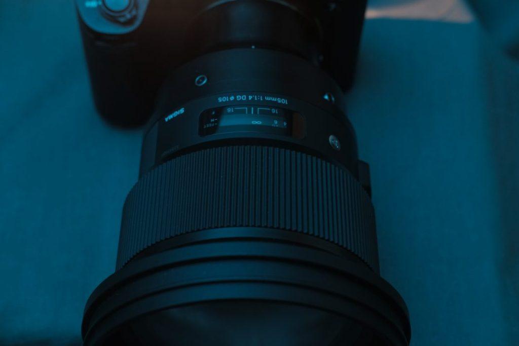 Sigma 105mm f/1.4 DG HSM Focus Ring