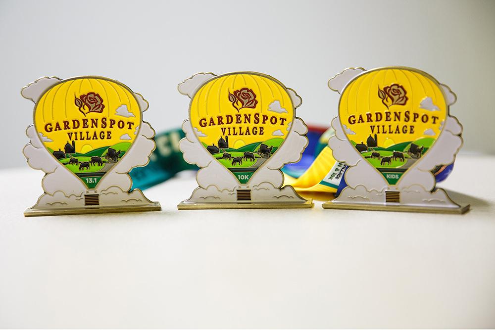 awards medal garden spot