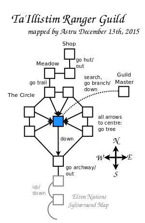 Ranger Guilds Map GemStone IV Wiki