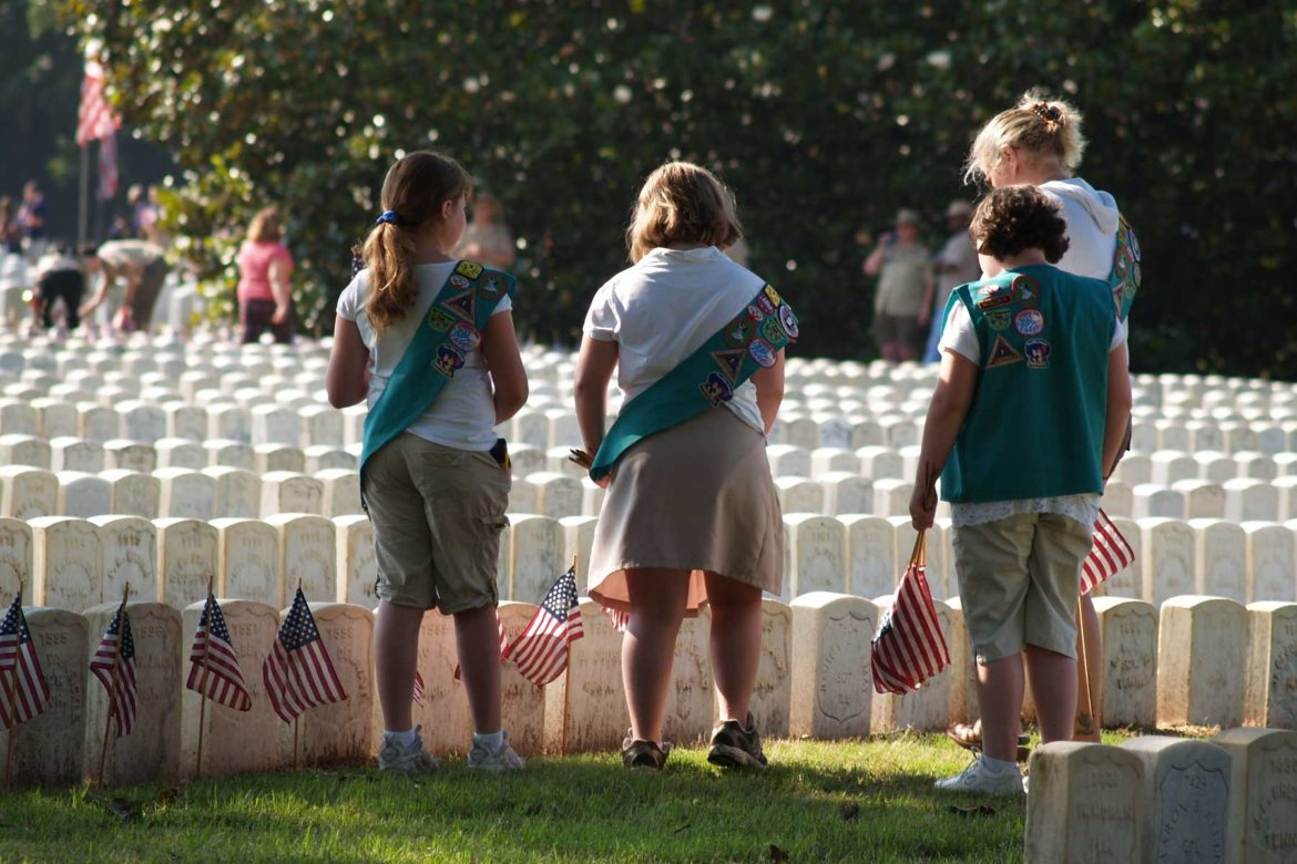 honoring our veterans girl scout style girl scouts of