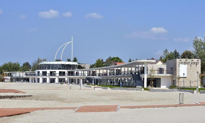 Átadásra kész a Velencei-tó kapuja