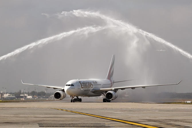 Emirates napi dubaji járat