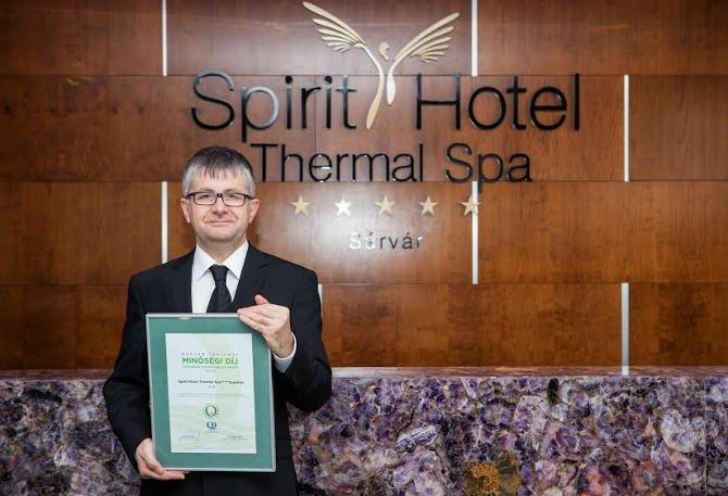 Újabb magyar és nemzetközi elismeréseket kapott a Spirit Hotel
