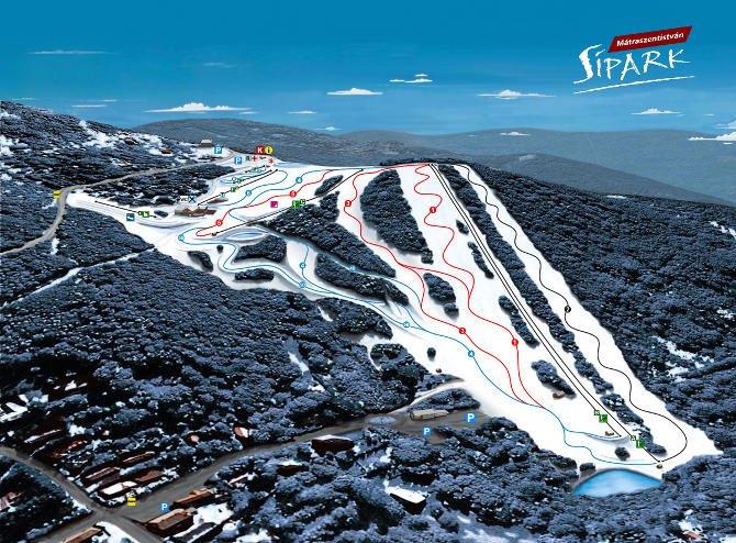 Új négyüléses sílift épül az idén Mátraszentistvánban