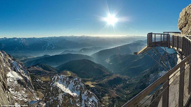 Lépcső a semmibe - Ausztria legmagasabban fekvő függőhídja