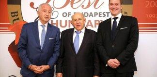 Minőség, innováció, versenyképesség – átadták a Best of Budapest & Hungary díjakat