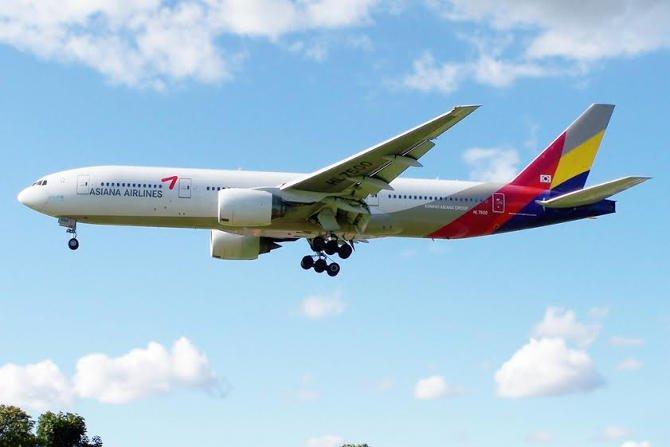 Közvetlen koreai charter – megérkezett az Asiana Airlines