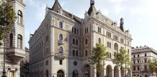 az ötcsillagos W Budapest Hotel