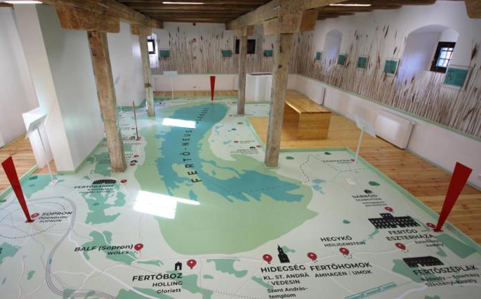 Peisonia Látogatóközpont, Fertőszéplak