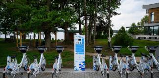Kerékpár kölcsönző, Tata