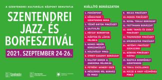 Szentendrei Jazz és Bor Fesztivál 2021