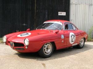 1960 Alfa Romeo Giulietta SS – Historic Race Car