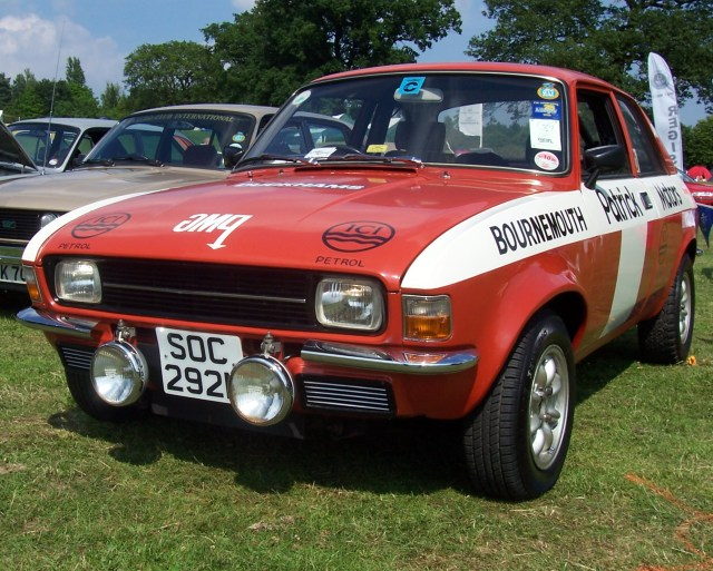 Austin Allegro Rally Car