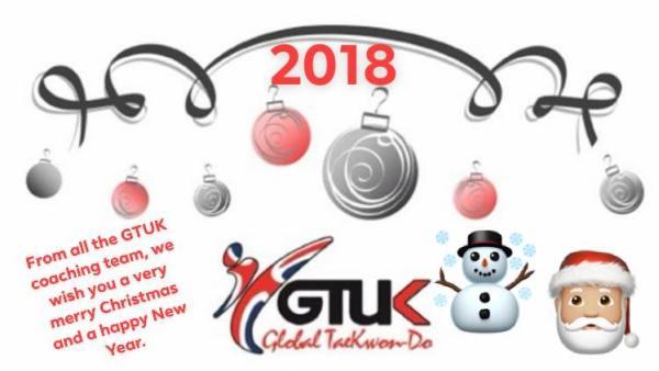 GTUK England squad Christmas 2018