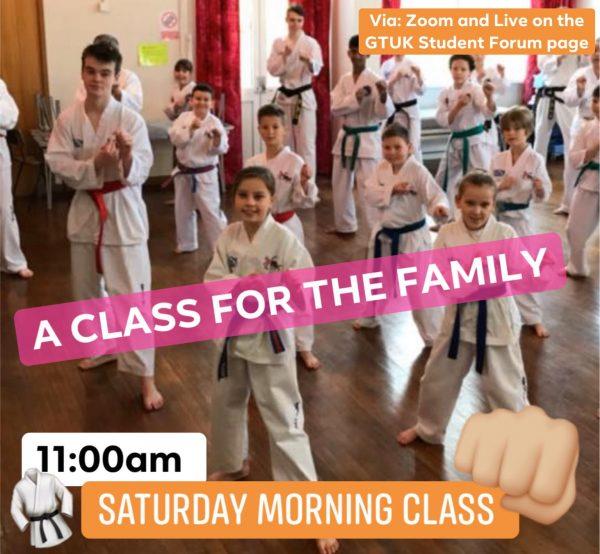 GTUK LIVE Bite sized Taekwondo class
